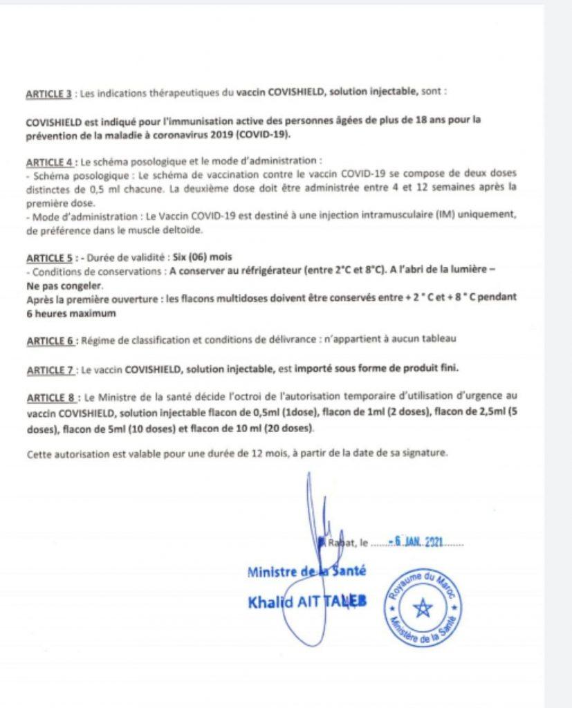 Covid-19: autorisation d'urgence du vaccin d'AstraZeneca par le ministère de la Santé 2