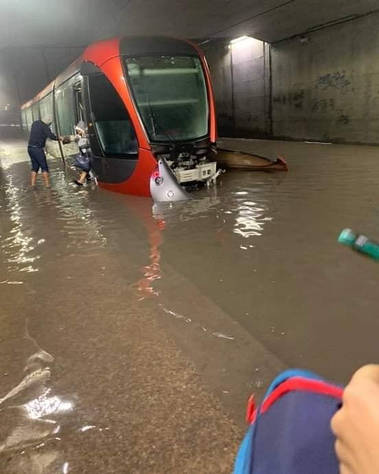 Fortes pluies à Casablanca: Les équipes de Lydec mobilisées 1