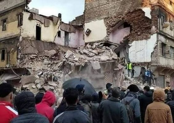 Casablanca: effondrement d'une maison menaçant ruine suite aux fortes précipitations