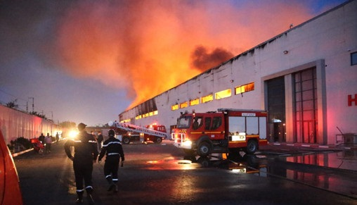 Casablanca: incendie dans un dépôt de bus de transport urbain hors d'usage