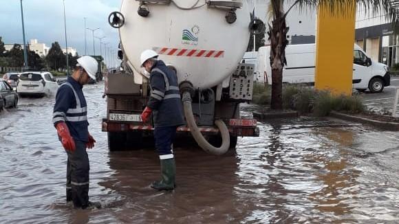 Fortes pluies à Casablanca: Les équipes de Lydec mobilisées