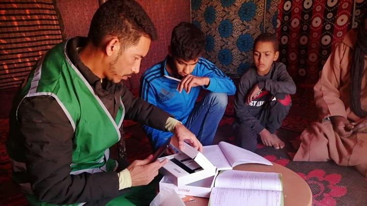 Rabat-Salé-Kénitra:  Distribution de tablettes aux élèves du rural 1