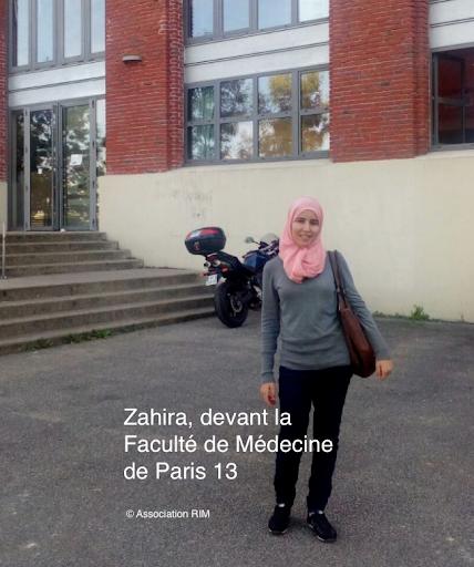 L'HISTOIRE DE LA JEUNE ZAHIRA: Des montagnes d'Imlil à l'Université Paris XIII de médecine 5