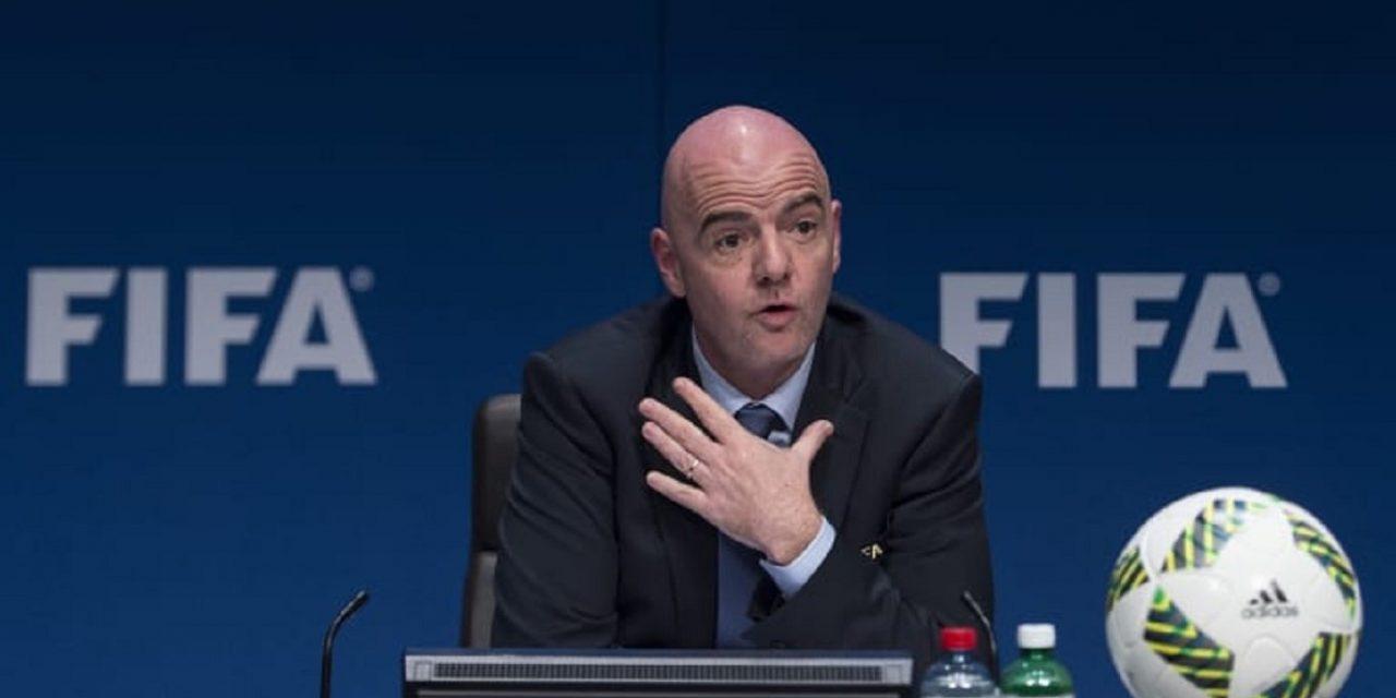 Le président de la FIFA Gianni Infantino en visite au Maroc