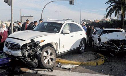 Accidents de la circulation: 15 morts et 1.875 blessés en périmètre urbain la semaine dernière