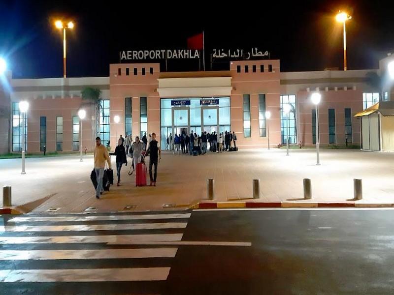 Aéroport de Dakhla: Le trafic aérien en baisse de 49% en 2020