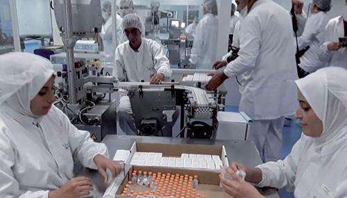 l'Union européenne prête à financer une unité de production de vaccins au Maroc