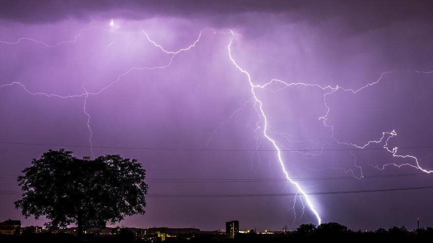 Fortes averses orageuses mardi et mercredi dans plusieurs provinces du Royaume