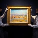 Une toile de Churchill représentant la mosquée Koutoubia, adjugée plus de 8 millions d'euros à Londres