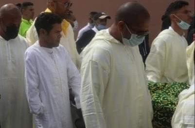 Marrakech: Jamal Debbouz aux obsèques de son père Touzani