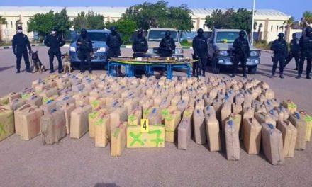 Laâyoune : Saisie de 2 tonnes de drogue