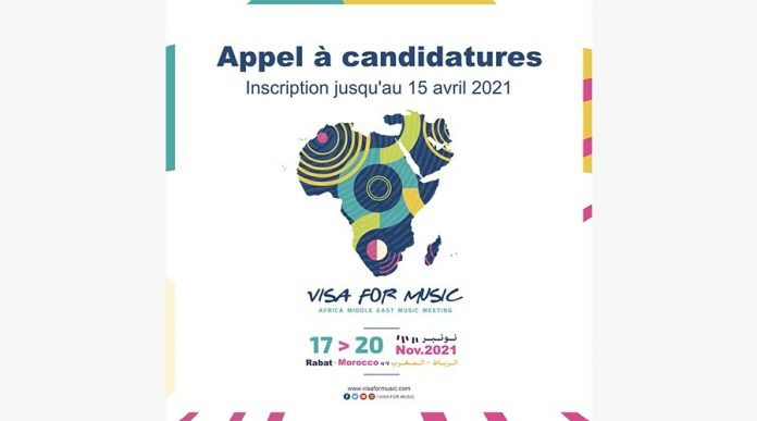 visa for music: APPEL À CANDIDATURES 2021 1