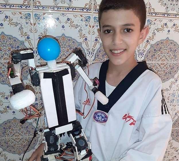 Mohammed Bilal Hamouti « petit inventeur » reçu par le ministre de l'Education nationale 1