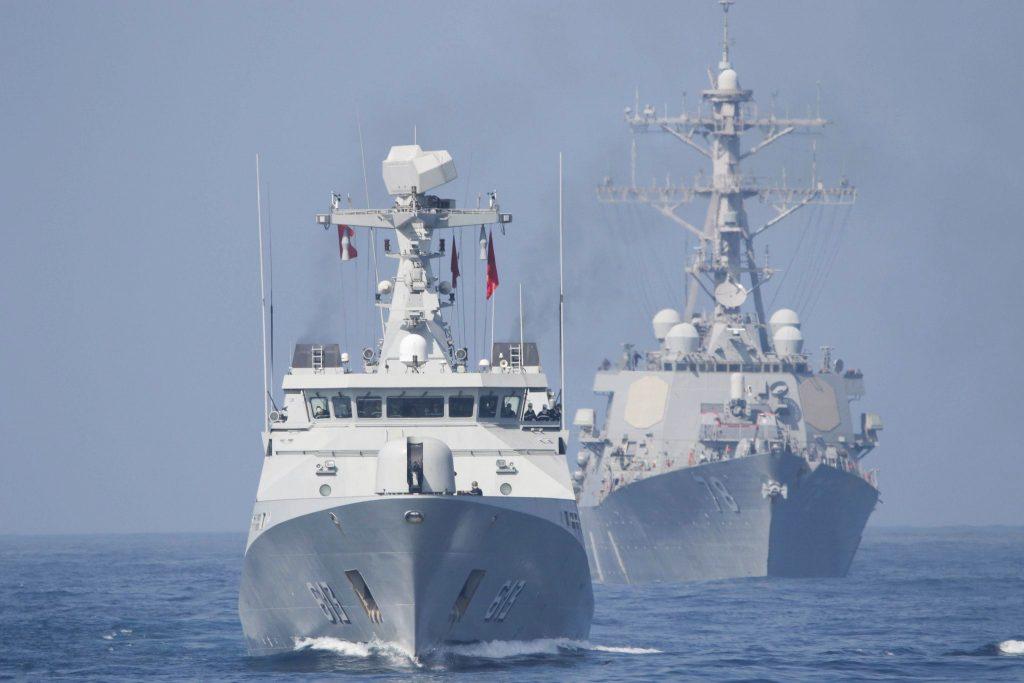 Marine: L'USS Dwight D. Eisenhower participe à un exercice au Maroc 2