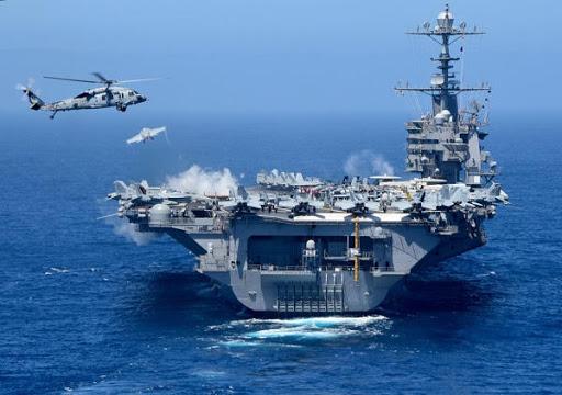 Marine: L'USS Dwight D. Eisenhower participe à un exercice au Maroc 1