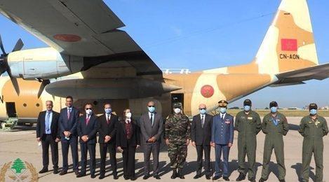 Aides alimentaires marocaines au Liban : L'armée libanaise remercie SM le Roi Mohammed VI 1