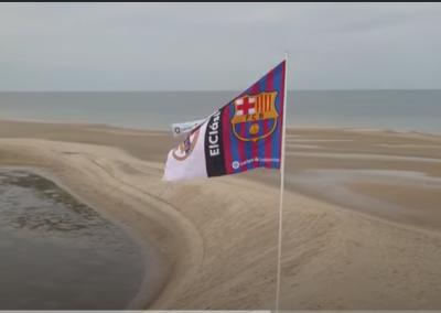 """Vidéo promotionnelle de la destination Dakhla à l'occasion du """"clasico"""" DE LA LIGA ESPAGNOLE"""