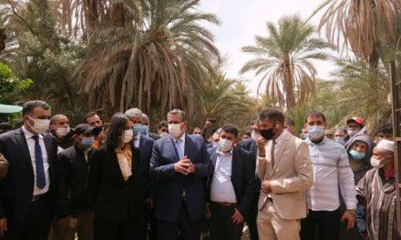 vallée d'Ait Mansour : Akhannouch et Fettah Alaoui effectuent une visite de terrain