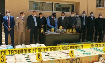 Errachdia : Les services de sûreté régionale à pied d'oeuvre dans la lutte contre le trafic international de drogue