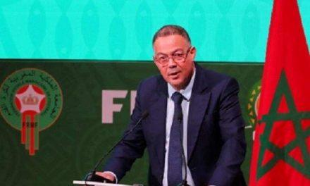 M. Fouzi Lekjaa: le Maroc continuera d'organiser les compétitions continentales et internationales