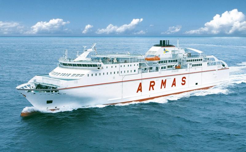 La compagnie maritime espagnole Naviera Armas entame le projet de relier Cadix et le Maroc
