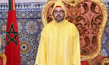 """Le Roi donne Ses instructions pour le lancement de l'Opération de distribution alimentaire """"Ramadan 1442"""""""
