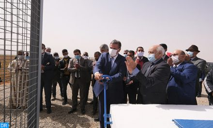 Akhannouch inaugure et visite des projets d'irrigation