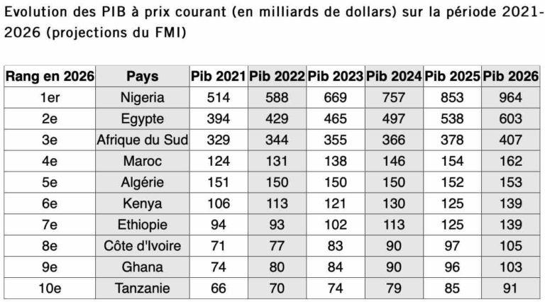 fmi: le maroc l'un des 10 pays qui seront les plus riches d'afrique en 2026 1