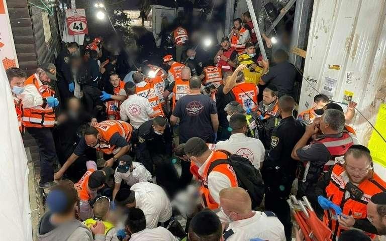 Drame en Israël : au moins 44 morts lors d'une bousculade géante dans un pèlerinage religieux 2