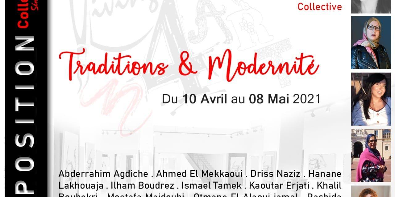 galerie Living 4 Art de CASABLANCA : UNE EXPOSITION COLLECTIVE D'ARTISTES PEINTRES MAROCAINS ET ÉTRANGERS