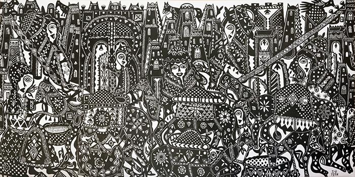 madrid: L'art contemporain marocain exposé au musée Reina Sofía 3