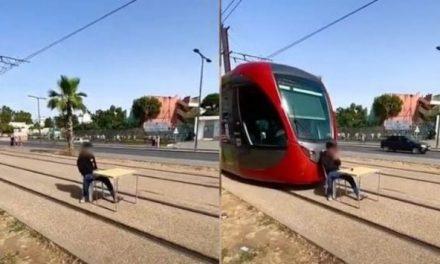 3 ans de prison ferme pour le jeune qui a bloqué le Tramway À CASABLANCA