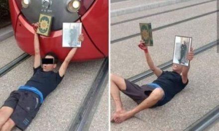 Un individu arrêté après avoir intentionnellement bloqué le tramway À CASABLANCA