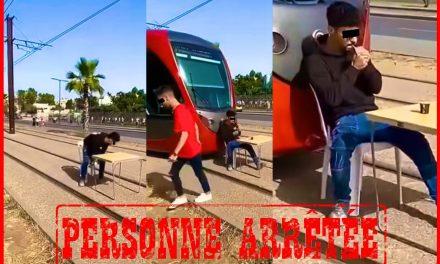 Casablanca : INTERPELLATION DE L'individu qui a mis en scène le blocage d'une ligne du Tramway