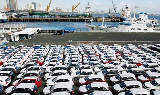Les exportations D'AUTOMOBILE EN HAUSSE de près de 39% au T1-2021