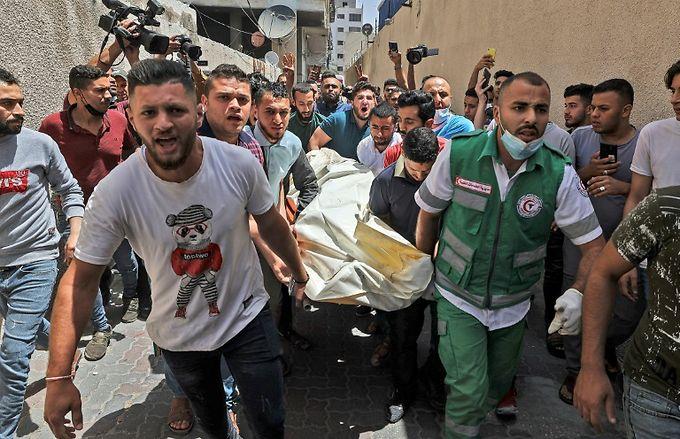 Pluie mortelle de roquettes sur Tel-Aviv, frappes musclées d'Israël sur Gaza 1