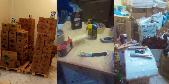 Oujda: Sept individus interpellés pour contrefaçon de marques commerciales et emballage de denrées alimentaires périmées