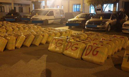 saisie de PLUS DE 5 tonnes de chira à NADOR
