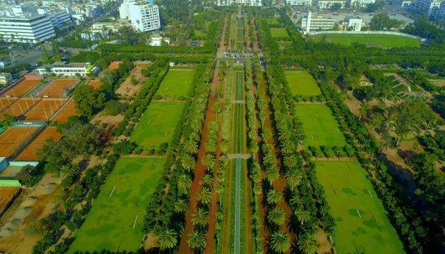 Casablanca: Le parc de la Ligue arabe rouvre ses portes au public