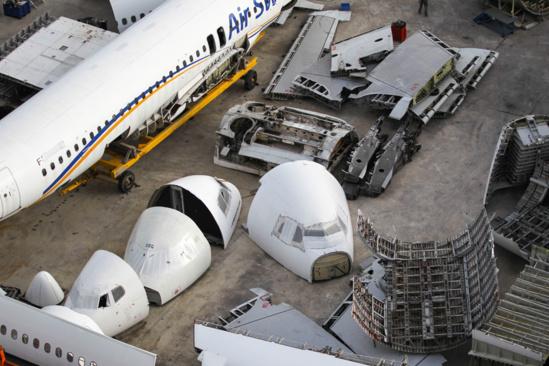 Le Maroc sera le 1er pays africain à construire une usine de démantèlement et recyclage des avions
