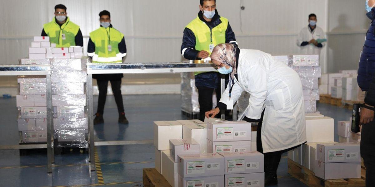 Covid-19 : Le Maroc reçoit 2 millions de doses de vaccin