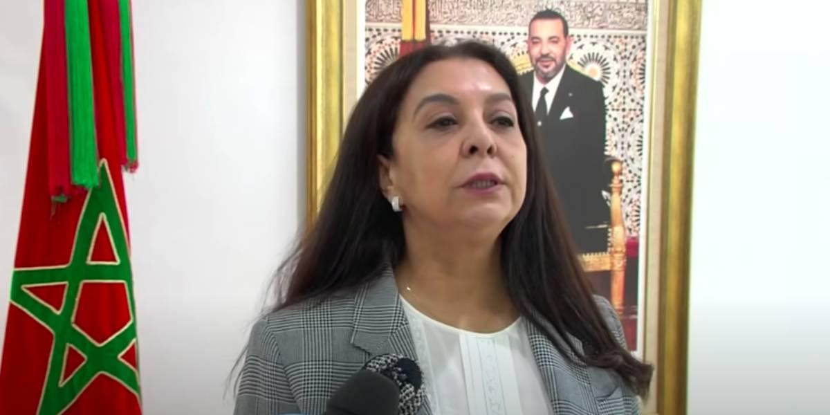 """Karima Benyaich déplore les propos """"inappropriés"""" de la ministre espagnole des AE"""
