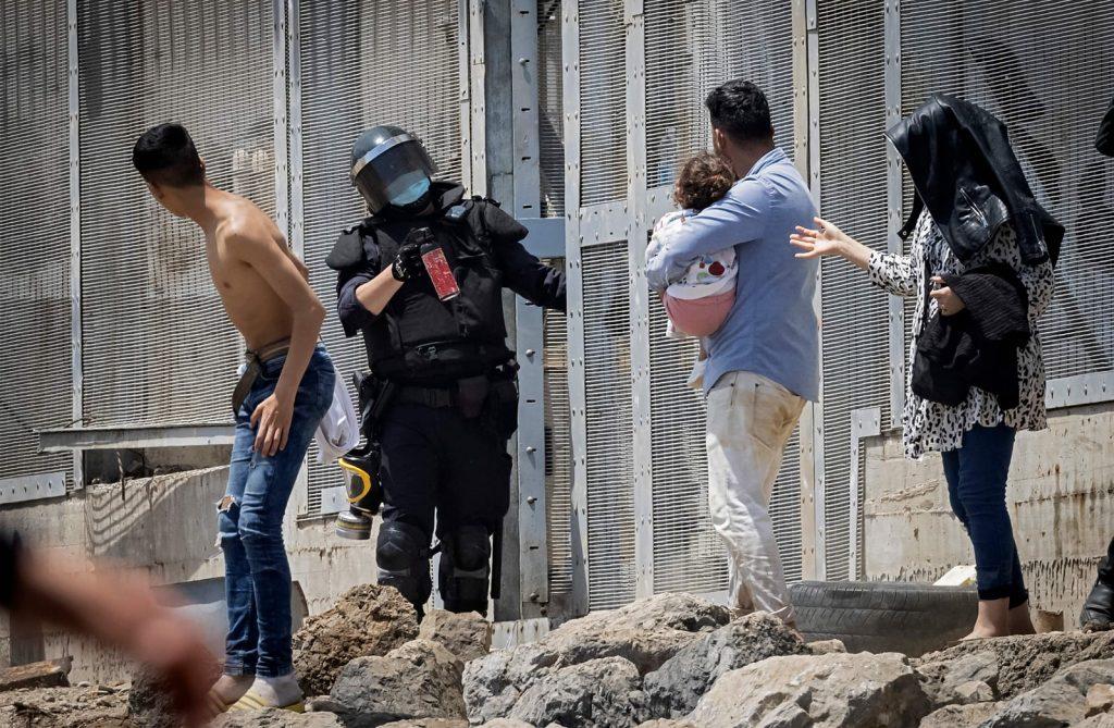 La crise à Ceuta laisse des images choquantes 3