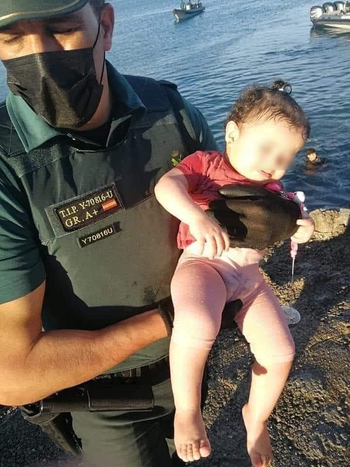 La crise à Ceuta laisse des images choquantes 4