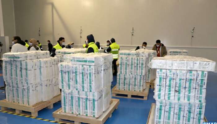 Le Maroc réceptionne 2 millions de doses du vaccin Sinopharm.