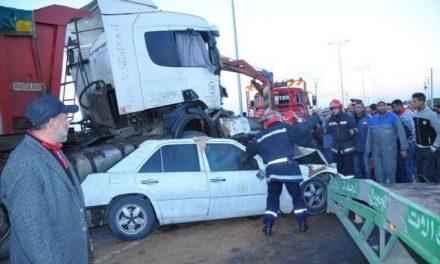 12 morts dans 1.603 accidents de la circulation en une semaine