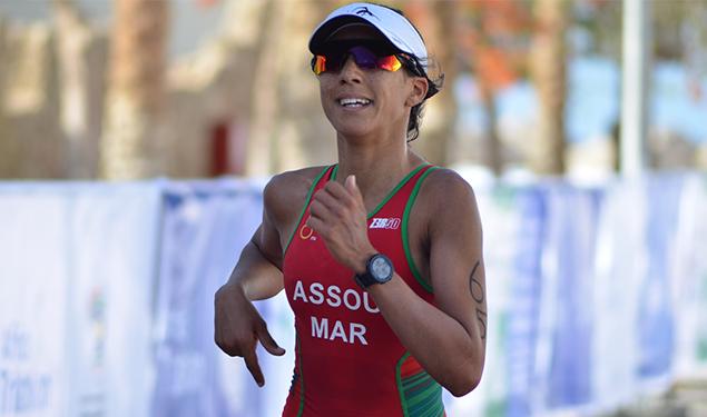 La marocaine Ghizlane Assou remporte la médaille d'argentAU CHAMPIONNAT ARABE DE TRIATHLON