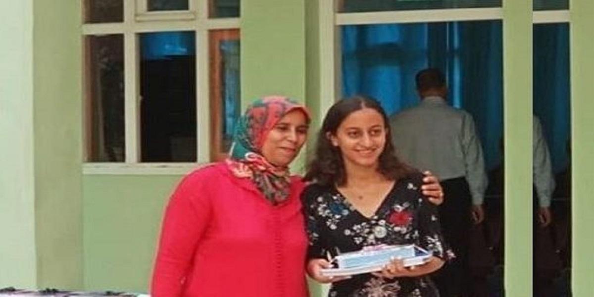 Amina Zerouali obtient la meilleure moyenne au Bac 2021