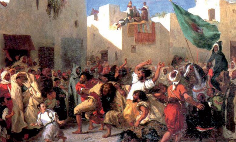 Le Maroc vu par Eugène Delacroix 1