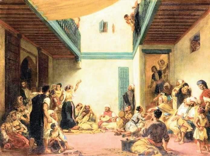 Le Maroc vu par Eugène Delacroix 2